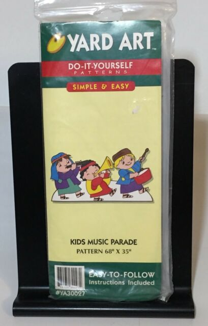 Yard art do it yourself pattern kids music parade outside wood yard art do it yourself pattern kids music parade outside wood christmas decorat solutioingenieria Images
