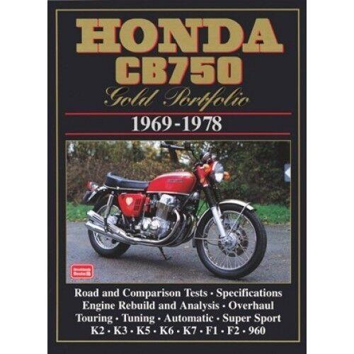 Honda CB750 Gold Portfolio 1969-1978 book paper
