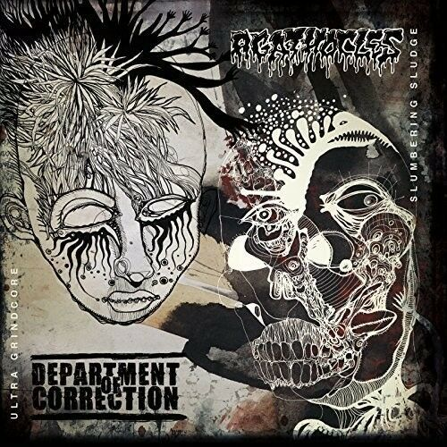 Department Of Correction / Agathocles - Split [New Vinyl LP]
