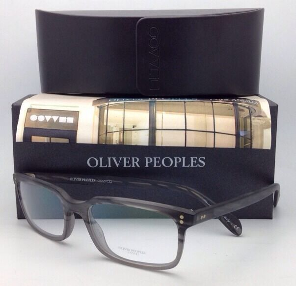 Oliver Peoples Eyeglasses Denison OV 5102 1124 53-17 Grey/matte ...