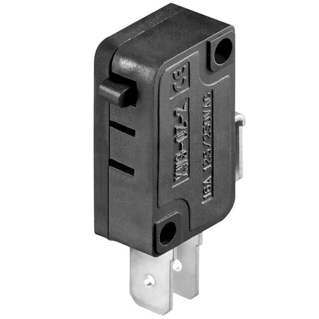 Microschalter Wechselschalter Einbauschalter 30 mOhm bis 16A / 125 VDC / 250 VAC