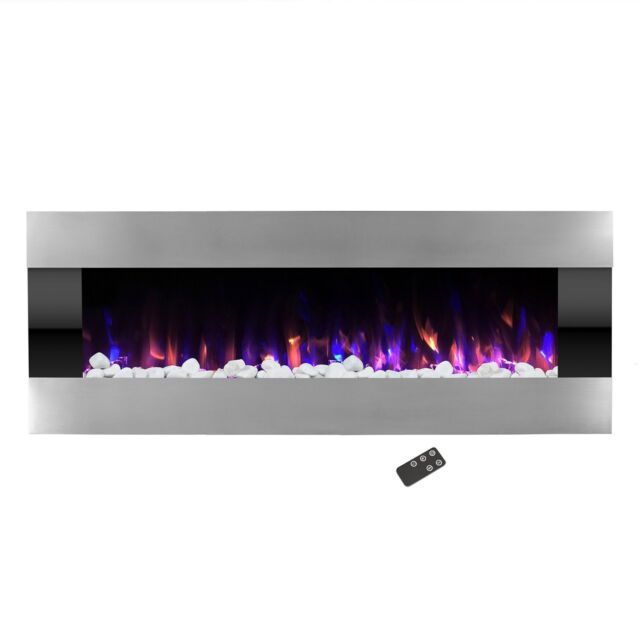Find great deals for Northwest 54 In. Stainless Steel Electric Fireplace With Wall Mount and Remote. Shop with confidence on eBay!
