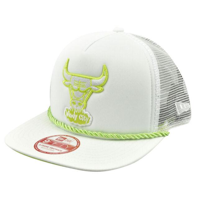 NBA Era a Frame 9fifty 950 Chicago Bulls Rope Front Trucker Snapback ...