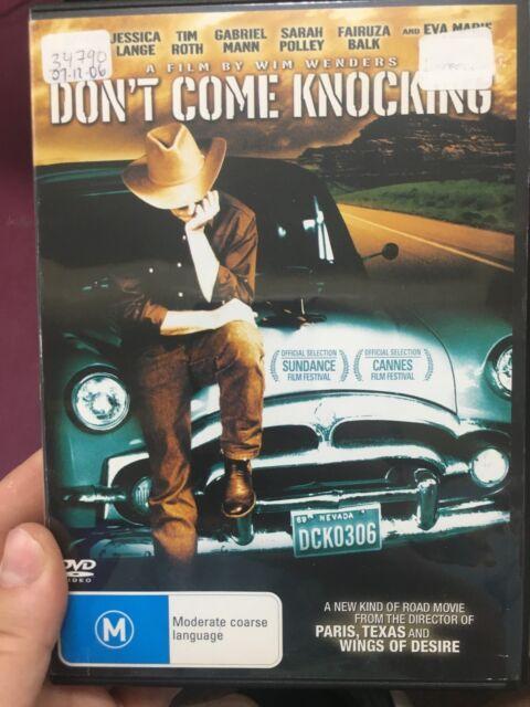Don't Come Knocking ex-rental region 4 DVD (2005 Wim Wenders comedy drama movie)