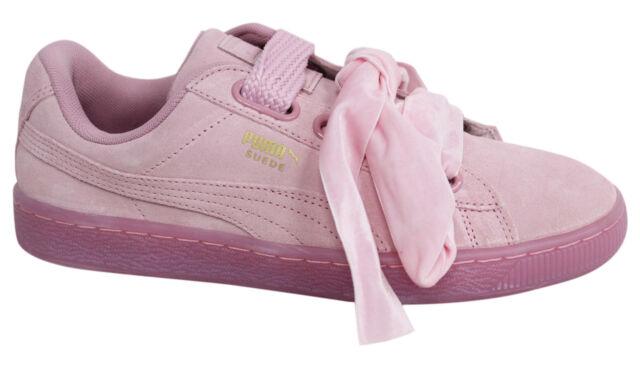 Puma Suede CUORE Reset Prism Pink Ladies Scarpe Da Ginnastica Misura UK 6  EUR 39 - mainstreetblytheville.org 7019ebce051