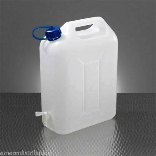 Water Storage Containers 10 Litre Carrier Tap Spout Food