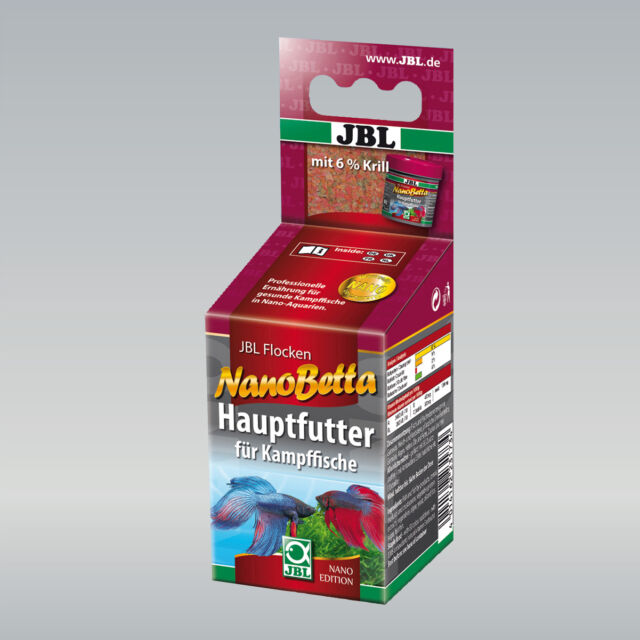 JBL Nano-Betta  Hauptfutter-Flocken für Kampffische in Nano-Aquarien