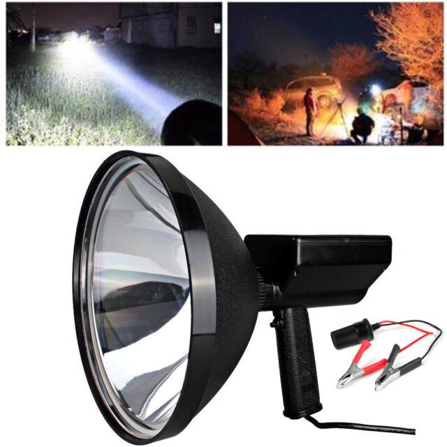 9 Inch 100w 12v Handheld HID Spotlight Driving Lights ...