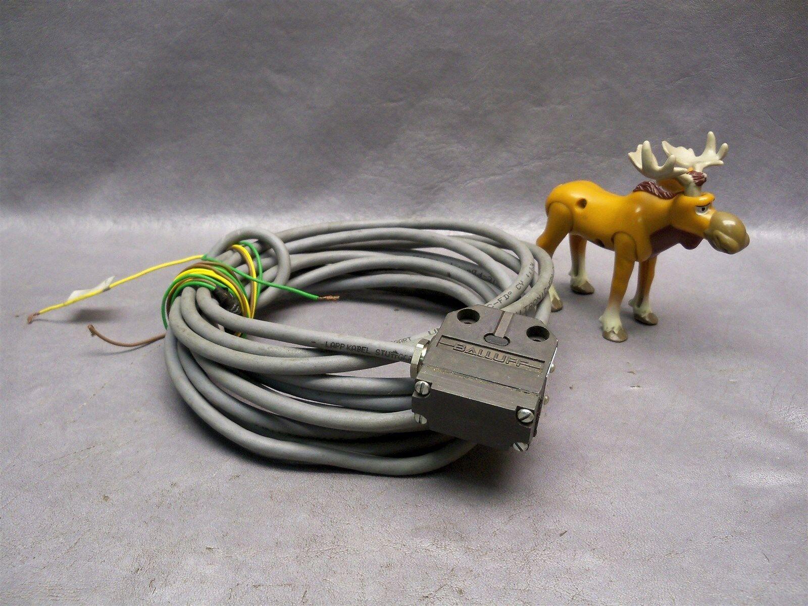 Balluff 9907 BNS 519-x496-99-r-11 Limit Switch With 16 Foot Wire | eBay