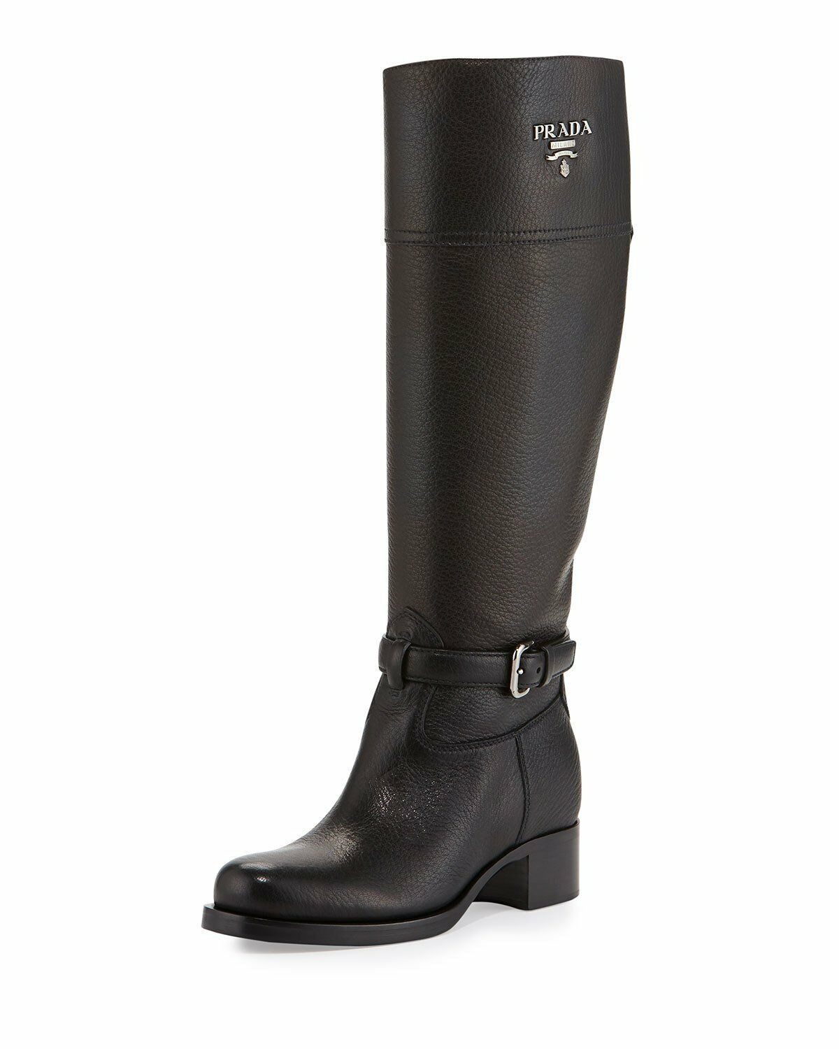 Prada Knee-High Riding Boots cheap with mastercard buy cheap supply free shipping pick a best new arrival cheap online B13I4tCE