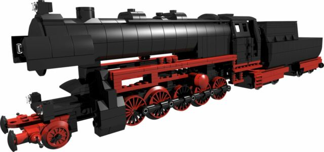 Custom Building Instruction For Br52 Steam Engine Bl To Build Out Of