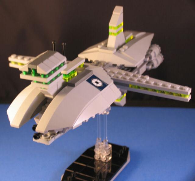 Lego® Brick Star Wars Custom Mini Separatist Cruiser Starship ...