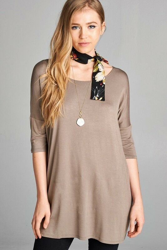 Short Sleeve Trapeze Dress