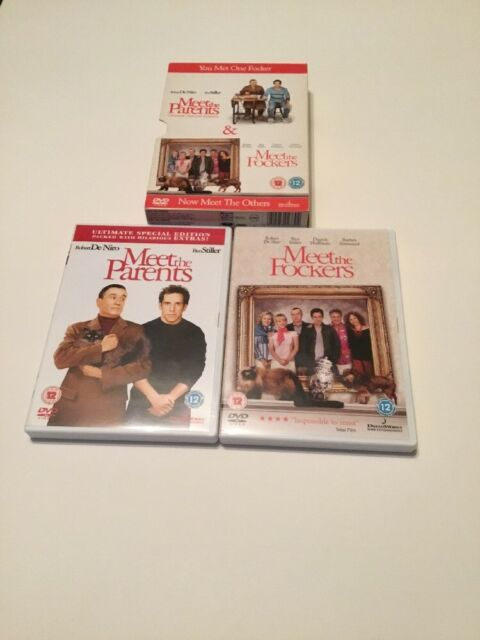 Meet The Parents/Meet The Fockers (DVD, 2005, 2-Disc Set, Box Set)