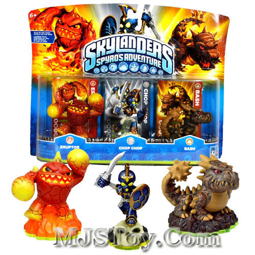 meet the skylanders eruptor giant