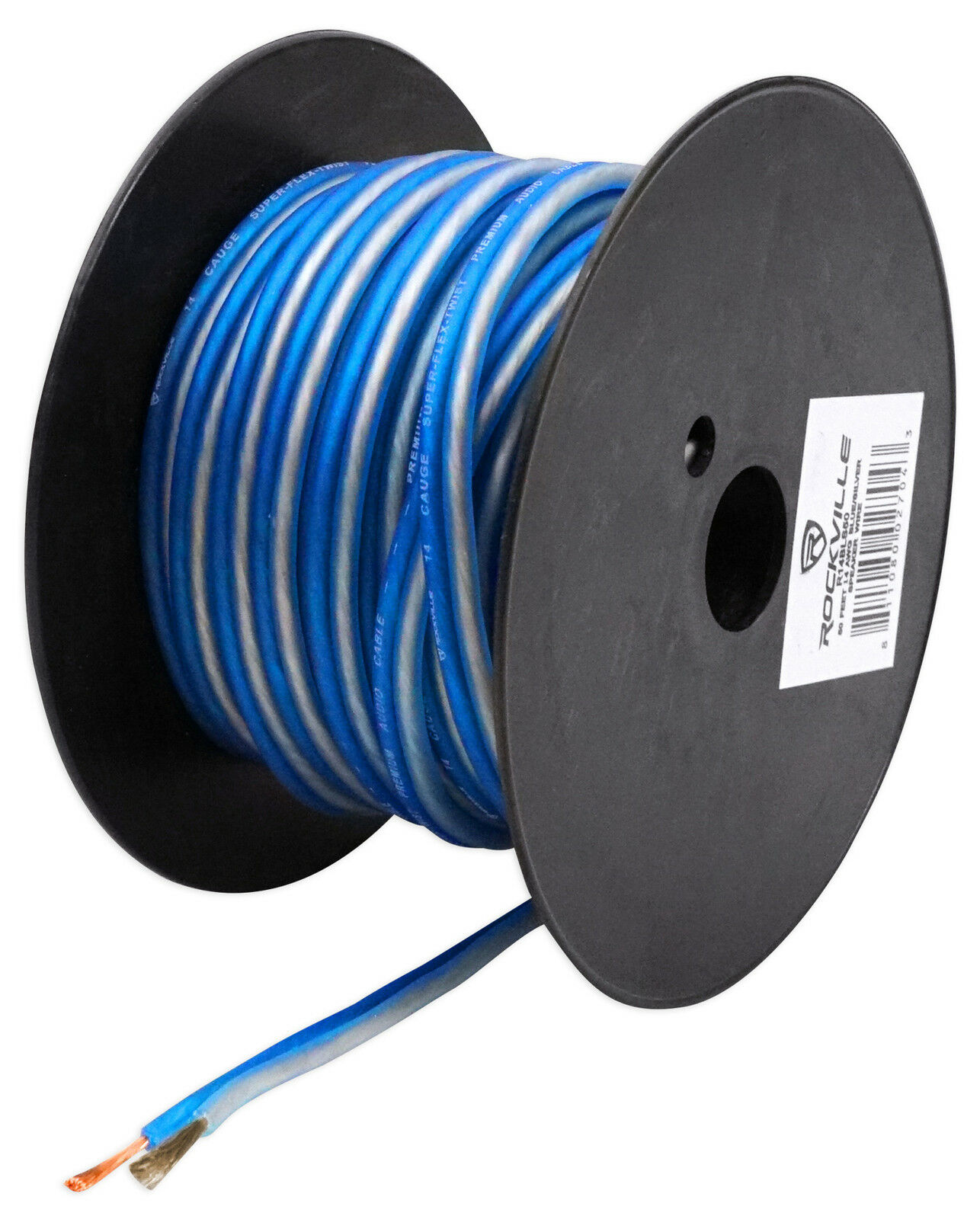 Rockville R14GBLS50 14 Gauge 50\' Spool Car Audio Speaker Wire   eBay
