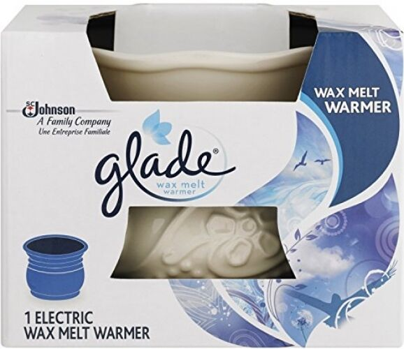 GLADE ELECTRIC WAX MELT WARMER / MELTER - NEW - FREE POST Freshener Air Candle