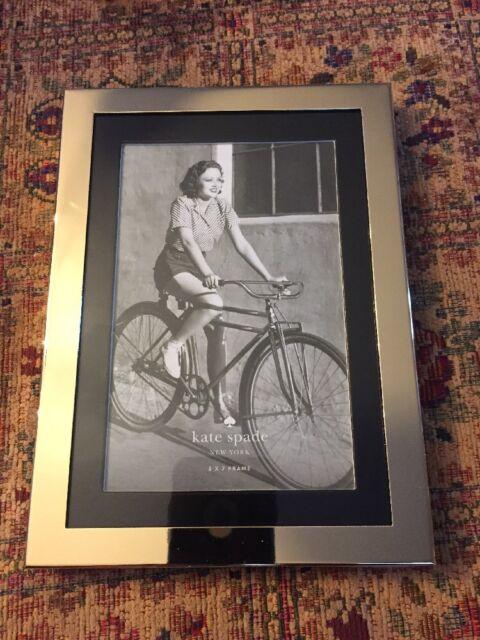 Kate Spade Frame Blake Street Blackgold 5x7 Lenox Ebay