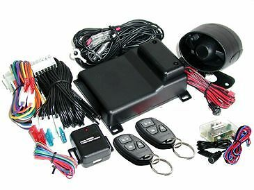 Mongoose Car Alarm M80G + Built in Turbo Timer Immobiliser Insurance Approved