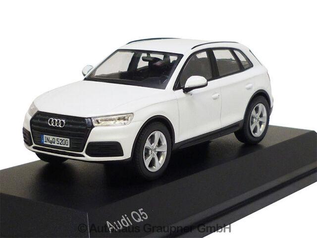 Audi Q5 1:43 Ibisweiss 2017 5011605631 Modellauto iScale Weiß