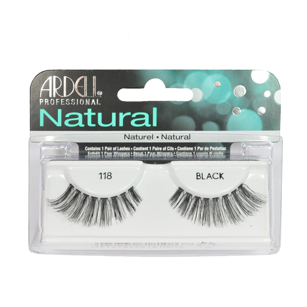 Natural 118 Black Lashes 65091 by ardell #13
