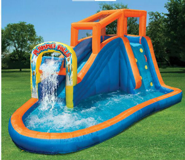 Inflatable water slide pool bounce house commercial for Best rated inflatable swimming pool
