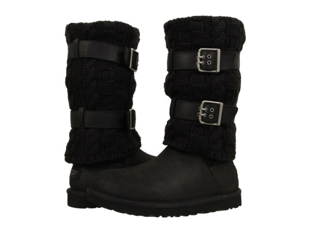 Women UGG Australia Cassidee Tall Boot 1007691 Black 100% Authentic Brand  New