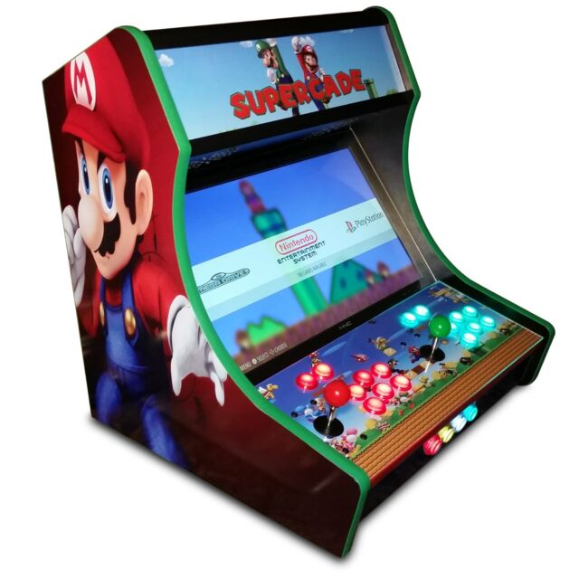 Bartop Arcade Kit Bundle Sanwa Led Buttons Usb Encoder