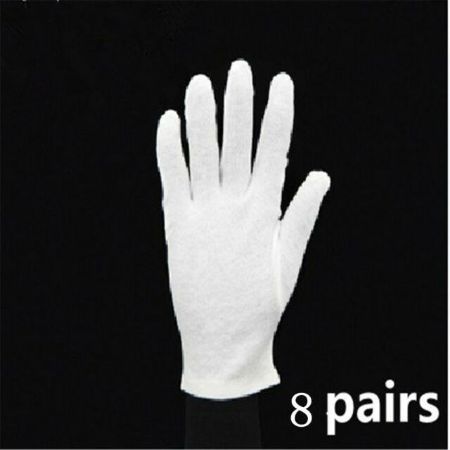 Jewelry Design & Repair Jewelry Tools Provided White Inspection Cotton Lisle 12 Pair 1dz Work Gloves Coins Jewelry Lightweight