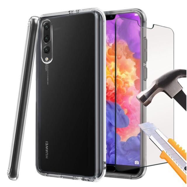 para Huawei P20 Pro - ultra fino transparente sintético Funda de Gel & Cristal