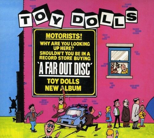 Toy Dolls - Far Out Disc [New CD] UK - Import