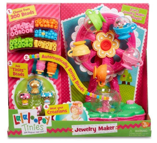 lalaloopsy tinies jewelry maker playset 300 beads ebay