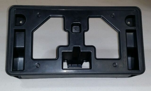 2013 honda accord oem front license plate holder 71145 t 2. Black Bedroom Furniture Sets. Home Design Ideas