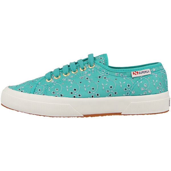 SUPERGA 2750 SANGALLO SATIN scarpe donna acquamarina s008c40969 sneakers