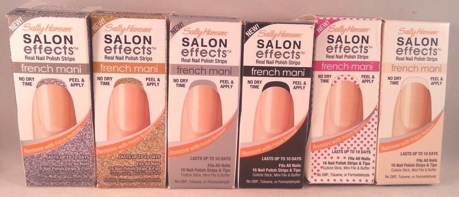 Sally Hansen Wild Child Salon Effects Real Nail Polish Strips 310 ...