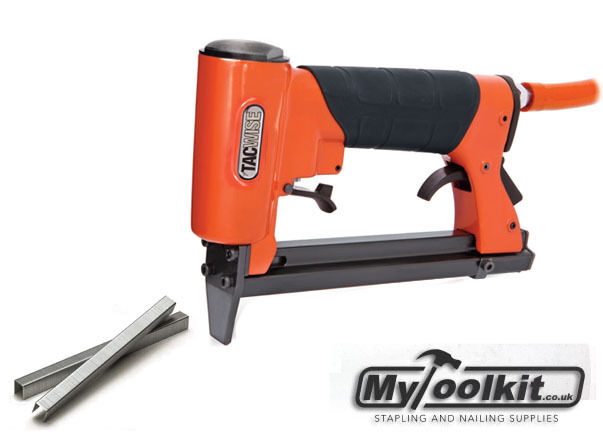 tacwise 80 series upholstery stapler kit with bostitch 6l compressor and airline