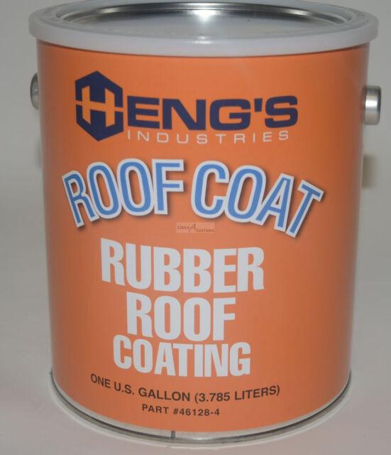 Hengu0027s Industries 46128 4 1gal Rubber Roof Coating | EBay