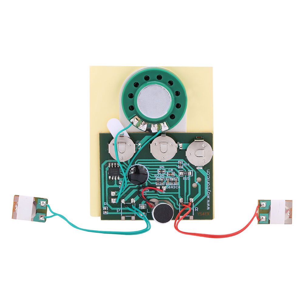 30s greeting card recordable voice chip music sound chip module 30s greeting card recordable voice chip music sound chip module musical diy js wired double button control ebay kristyandbryce Image collections