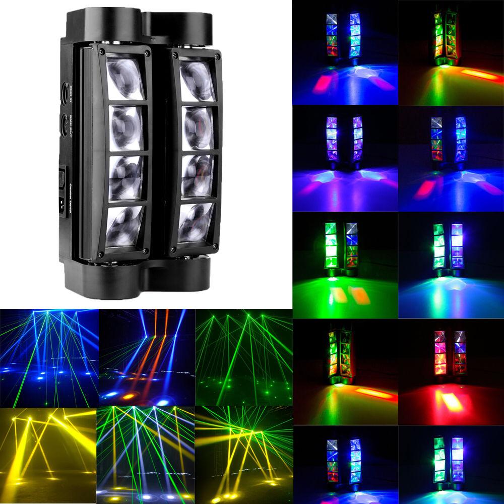 Picture 1 of 11 ...  sc 1 st  eBay & RGBW 80w Spider Beam Stage Lighting Moving Head DMX Disco DJ Party ... azcodes.com