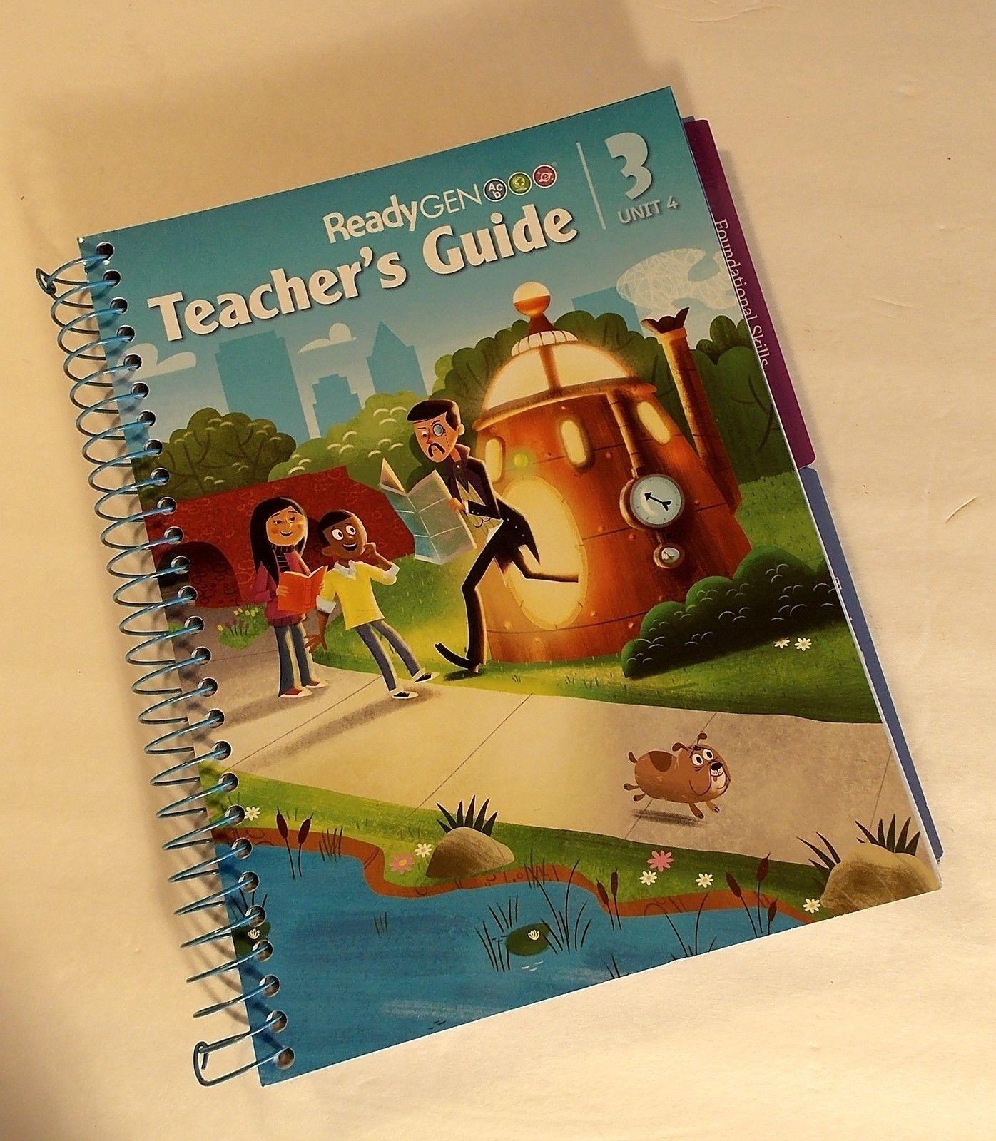 readygen teachers guide grade 3 unit 4 common core 9780328851973 rh ebay com readygen grade 4 teacher's guide unit 3 ReadyGEN First Grade