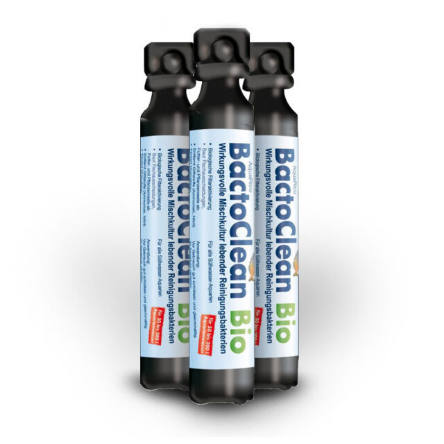 ORIGINAL DENNERLE Aqua Rico BACTOCLEAN 50 ml lebende Bakterien NEU UND FRISCH