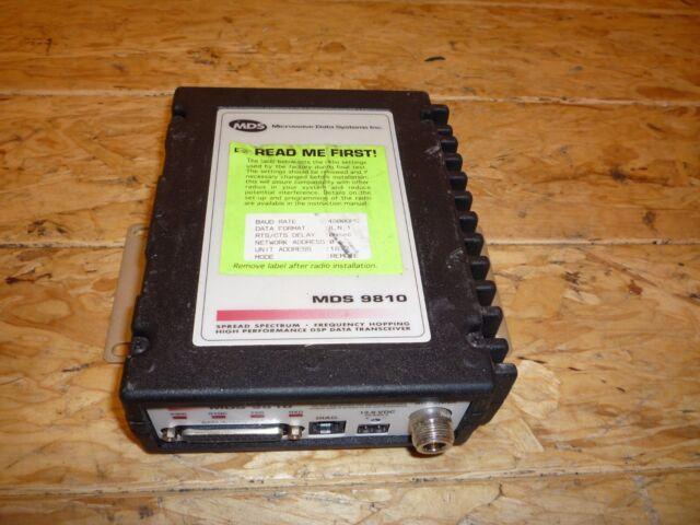Microwave Data Systems Mds 9810 Hl Spread Spectrum Transceiver 9810xn11fua Rev Z
