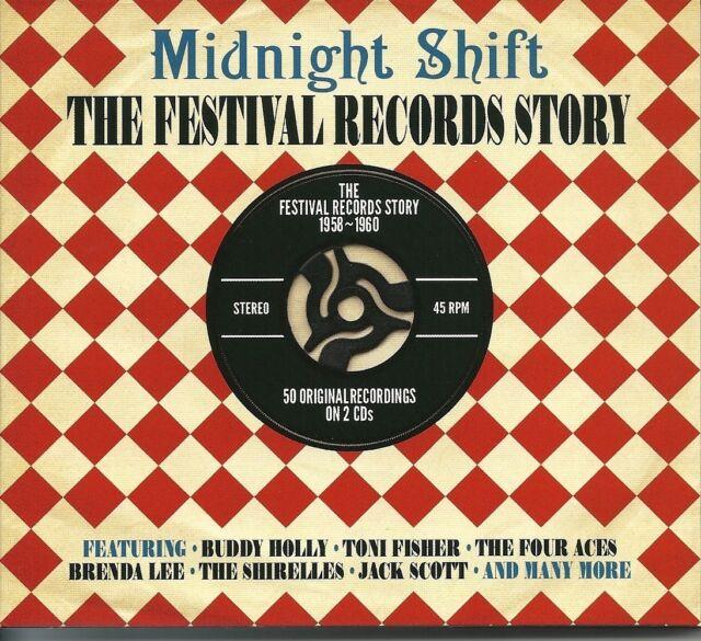 MIDNIGHT SHIFT THE FESTIVAL RECORDS STORY 1958 - 1960 - 2 CD BOX SET
