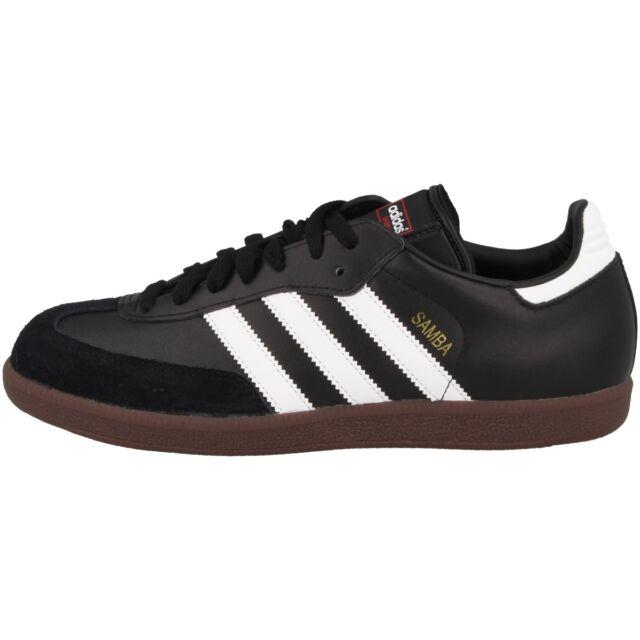 ADIDAS Samba Uomo Sneakers Scarpe da corsa Scarpe da ginnastica 019000 000 Nero Nuovo