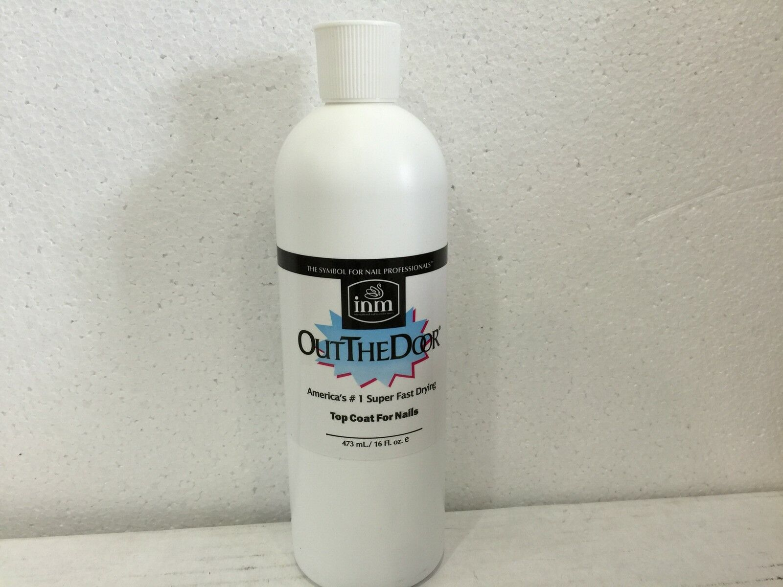 INM out The Door Fast Dry Top Coat for Nails 473ml 16 Oz Refill | eBay