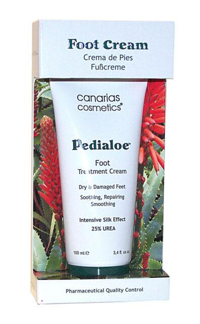 Canarias Cosmetics PEDIALOE reichhaltige Fußcreme 100 ml Originalverpackt