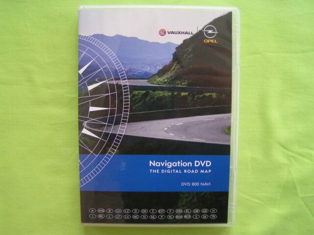 DVD NAVIGATION OPEL DVD 800 NAVI EUROPA + OSTEUROPA 2010 ASTRA J MERIVA B TOP