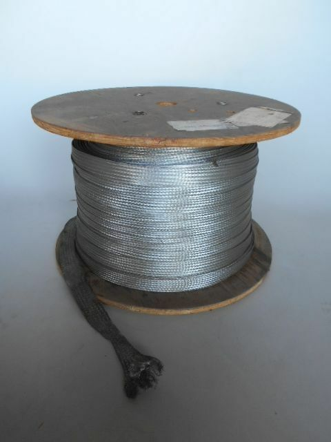 Alpha Wire 100ft of Tinned Copper Flat Braid 1\
