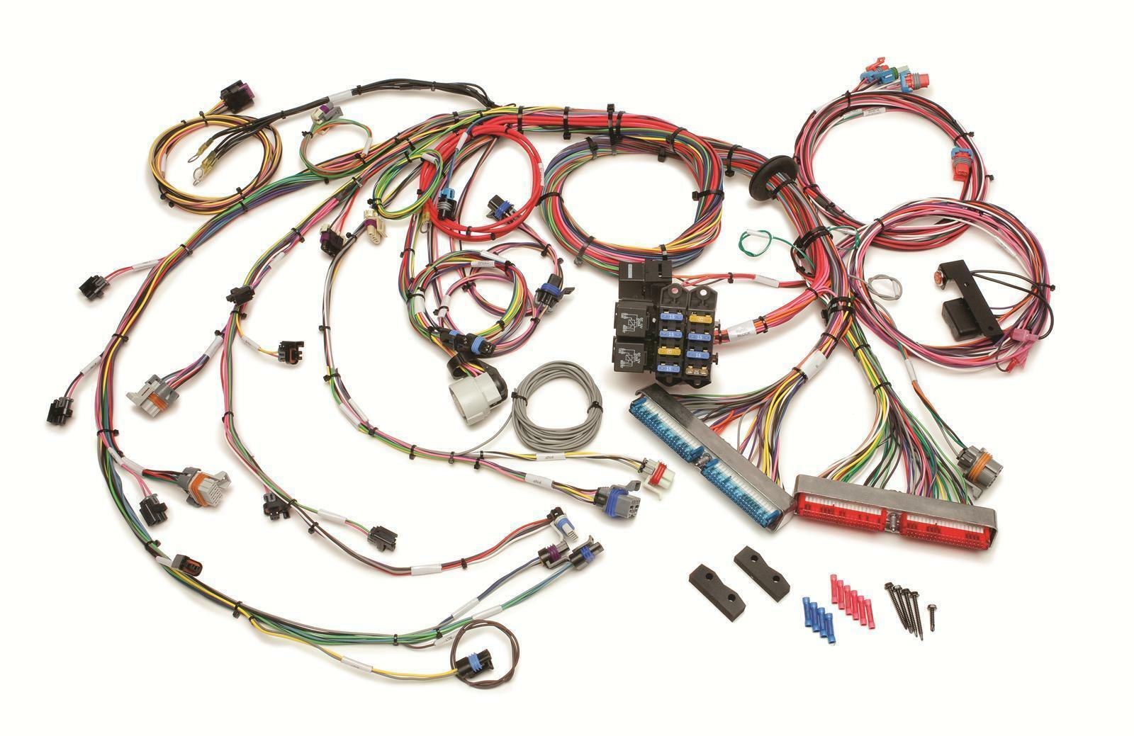 fuel injection harness gm vortec sequential painless wiring 60217 ebay rh ebay com GM Wiring Harness Diagram GM Factory Wiring Harness
