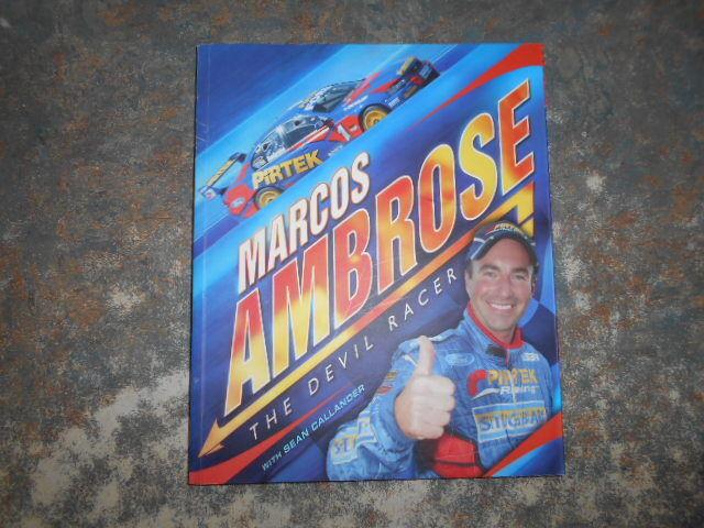 MARCOS AMBROSE: The Devil Racer - Sean Callander Ford V8 Supercars